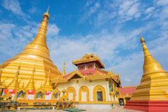 Kyaik Tan Lan The Old Moulmein pagoda. This pagoda is the highest structure in Mawlamyine ,Myanmar Stock Images