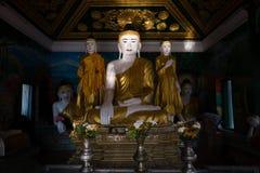 Kyaik Tan Lan Pagoda Arkivbild