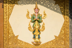 Kyaik Tan Lan Pagoda Royaltyfri Bild