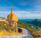 Kyaikhtiyo pagoda in Myanmar Stock Photography