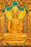Kyaikhto, το Μιανμάρ - 22 Φεβρουαρίου 2014: Εικόνα του Βούδα Kyaikpawlaw Στοκ φωτογραφία με δικαίωμα ελεύθερης χρήσης