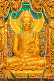 Kyaikhto, Myanmar - February 22, 2014: Kyaikpawlaw Buddha Image Royalty Free Stock Photo