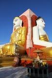 Kyaikpun塔, Bago,缅甸 免版税库存照片