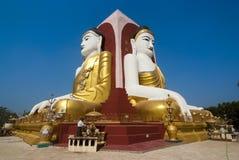 Kyaikpun Pagoda, Bago, Myanmar Stock Images