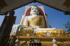 Kyaikpun Pagoda, Bago, Myanmar Stock Photo