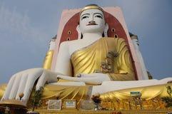 Kyaikpun Pagoda. Big buddha in Kyaikpun Pagoda Stock Photography