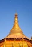 Kyaikthanlan Gouden Pagode Stock Foto's
