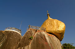 Kyaiktiya pagoda. Zdjęcie Stock