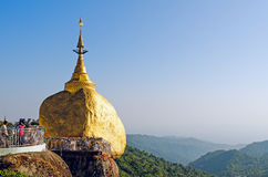 Kyaiktiya pagoda. Stock Photos
