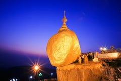 Kyaiktiyo Pagoda Arkivfoton