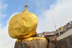 Kyaiktiyo Pagoda (Golden Rock) Royalty Free Stock Images