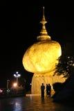 Kyaiktiyo pagoda (Golden rock)  Myanmar Stock Images