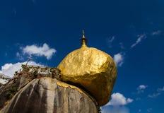 Kyaiktiyo pagoda Royalty Free Stock Images