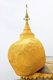 Kyaiktiyo Pagoda Or Golden Rock, Myanmar Royalty Free Stock Image