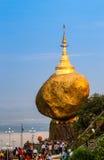 Kyaiktiyo pagoda Stock Image