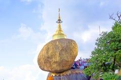 Kyaiktiyo Pagoda, Mon State, Myanmar (Burma) Stock Photography