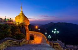 Kyaiktiyo pagoda, Mon state, Myanmar Royalty Free Stock Image