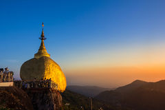 Kyaiktiyo Pagoda Royalty Free Stock Photo