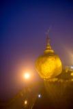 Kyaiktiyo Pagoda Myanmar Stock Photography