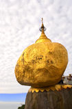 Kyaiktiyo Pagoda over the Golden Rock, Myanmar Burma Royalty Free Stock Photo