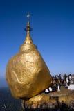 Kyaiktiyo-Pagode oder goldene Felsen-Pagode Lizenzfreie Stockfotos