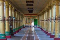 Kyaly Khat Wai修道院,在缅甸(Burmar)的Bago 免版税库存图片