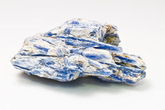 Kyanite Mineral Specimen. A beautiful example of a Kyanite mineral specimen Royalty Free Stock Images