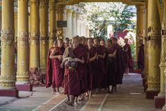 Kyat de Wijnklooster van Khat - Myanmar Stock Foto