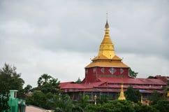 Kyauk Htat Gyi塔在仰光,缅甸 库存图片