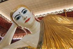 KYAUK HTAT GYI. Big Buddha in Myanmar name KYAUK HTAT GYI Royalty Free Stock Photos