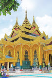 Kyauk Taw Gyi pagod, Yangon, Myanmar Arkivfoton