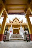 Kyauktagyi paya Temple or Golden Palace Monastery in Mandalay, Myanmar. Stock Photography