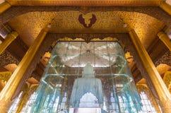 Kyauktawgyi buddha pagod Arkivbilder