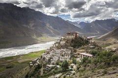 Kye monastery or ki monastery Stock Photo