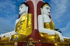Kyeik Pun Buddha Image Photographie stock libre de droits