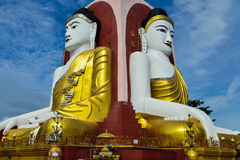 Kyeik Pun Buddha Image. Royalty Free Stock Photography