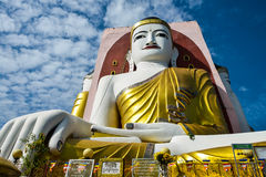 Kyeik Pun Buddha Image. Stock Photo