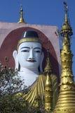 Bago - Kyeik Pun Pagoda - Myanmar (Burma) Stock Photography