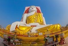 Kyeiken Pun Pagoda i Bago i Myanmar Royaltyfri Bild