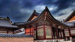 Kyeongbokgung宫殿汉城韩国 库存图片