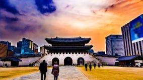 Kyeongbokgung宫殿 库存图片