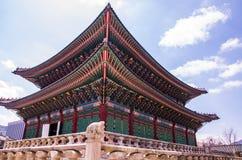 Kyeongbokpaleis Stock Afbeelding