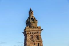 Kyffhaeuser,纪念碑, Barbarossa 图库摄影