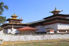 Kyichu Lhakhang, Бутан Стоковое Изображение