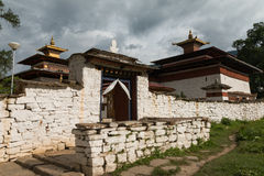 Kyichu Lhakhang, Bhutan Lizenzfreie Stockbilder
