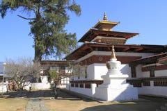 Kyichu Lhakhang, Bhutan Fotografia Stock Libera da Diritti