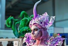 Kyiv时髦时尚2016年节日在基辅,乌克兰 库存图片