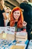 KYIV, ΟΥΚΡΑΝΊΑ - 9 ΣΕΠΤΕΜΒΡΊΟΥ 2018: Γενική φωτογραφία σε κωμικό Con UK στοκ φωτογραφία με δικαίωμα ελεύθερης χρήσης