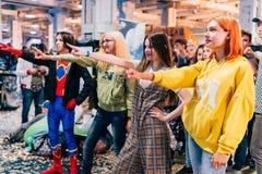 KYIV, ΟΥΚΡΑΝΊΑ - 9 ΣΕΠΤΕΜΒΡΊΟΥ 2018: Γενική φωτογραφία σε κωμικό Con UK στοκ φωτογραφία