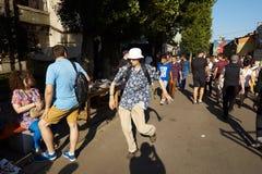 KYIV, ΟΥΚΡΑΝΊΑ - 9 ΣΕΠΤΕΜΒΡΊΟΥ 2018: Γενική φωτογραφία σε κωμικό Con UK στοκ εικόνες με δικαίωμα ελεύθερης χρήσης